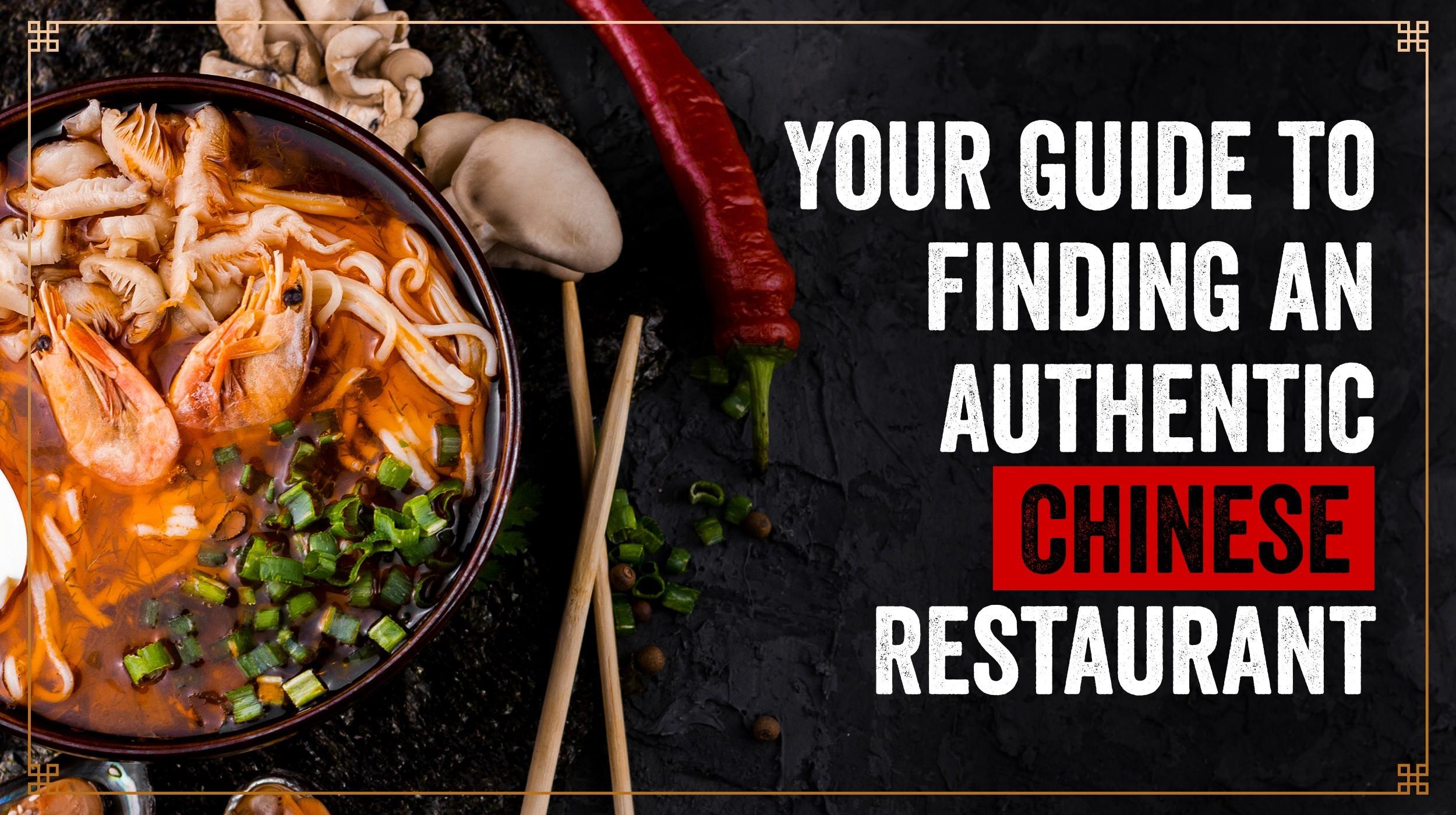 authentic chinese restaurant