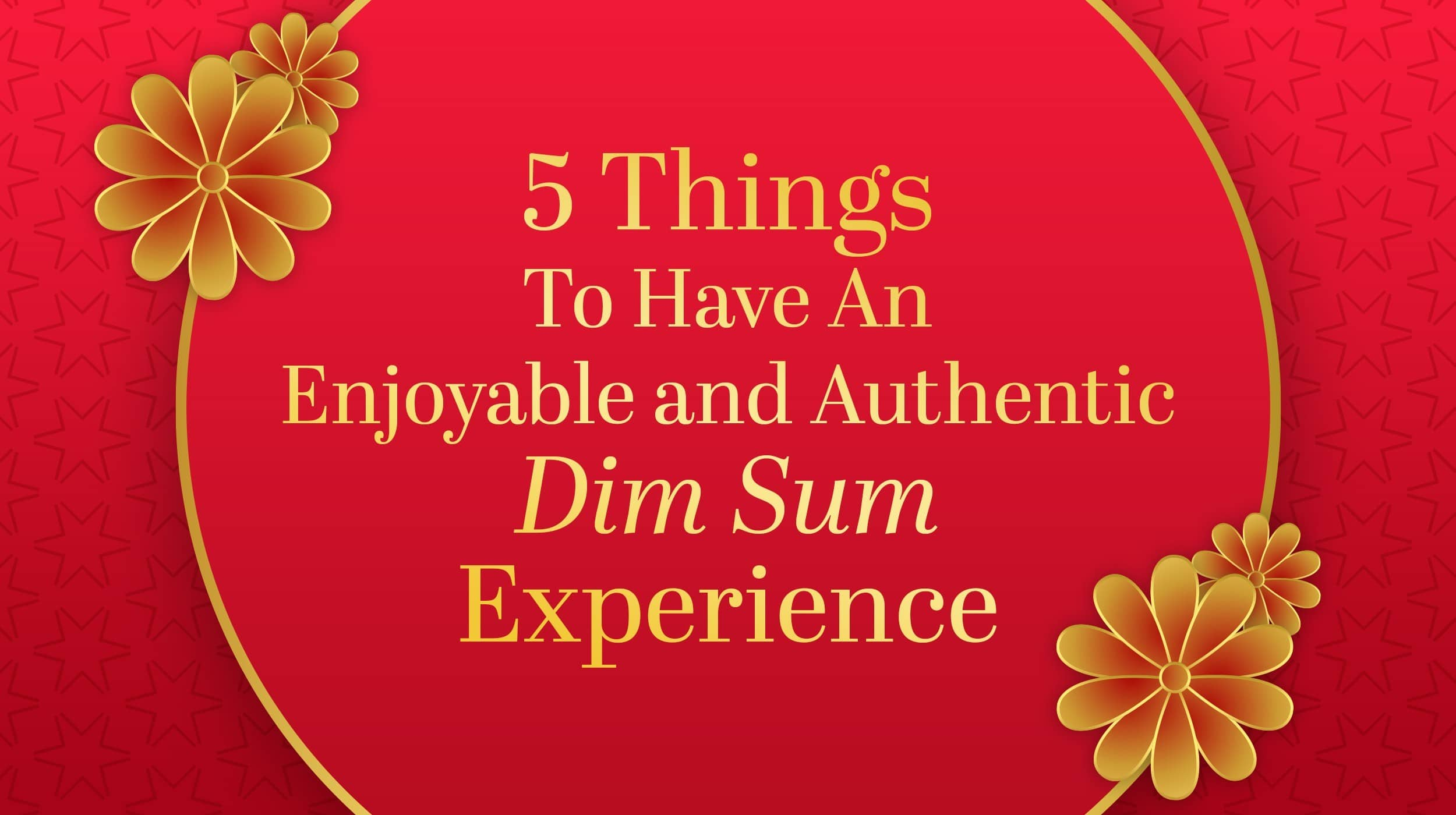 5 things to have in dim sum
