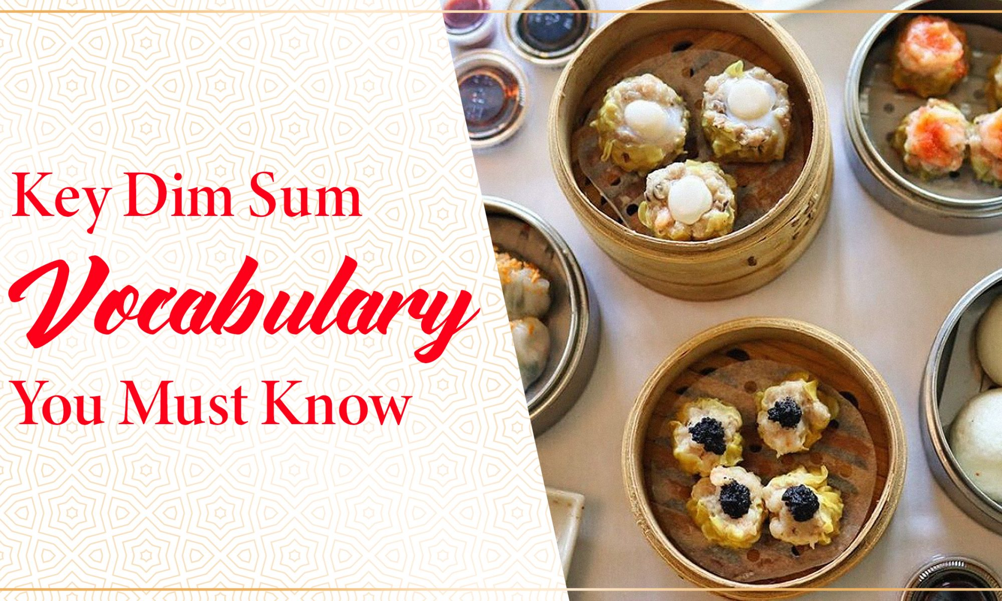dim sum vocabulary