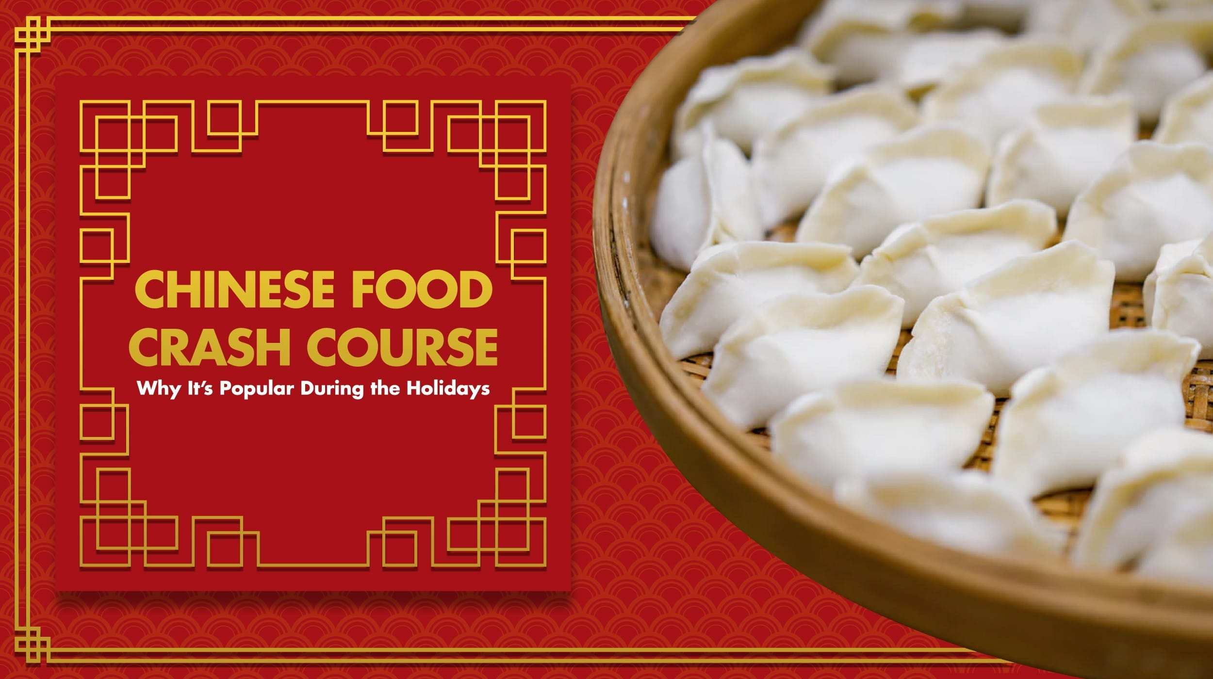 chinese food crash course